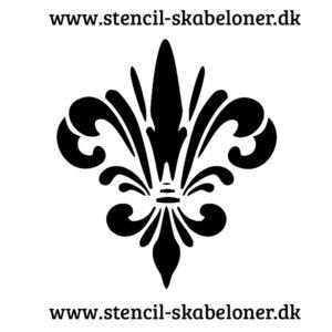 Damask mønster stencil 2 - lav flotte mønstre med din maling