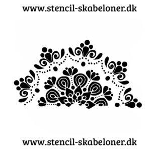 MAndala stencil til al slags dekoration