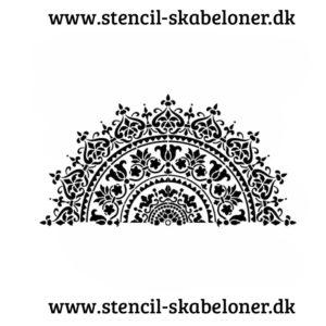 Lækker Mandala stencil