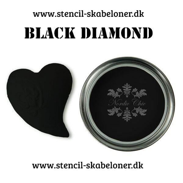 Diamond black kalkmaling