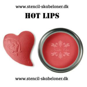 Hot lips er en fræk pink kalkmaling til møbler