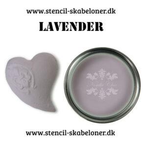 Lavendel farvet kalkmaling