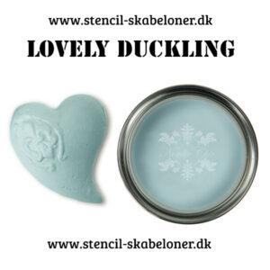 Smuk lys og sart blå kalkmaling fra Nordic Chic