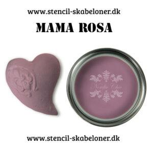 Mama Rosa - er en lækker lavendel rødlig farve som er super flot til det gamle romantiske look når du maler med kalkmaling