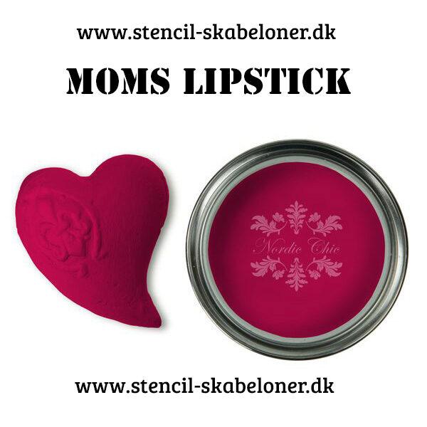 Moms Lipstick super flot pink kalkmaling