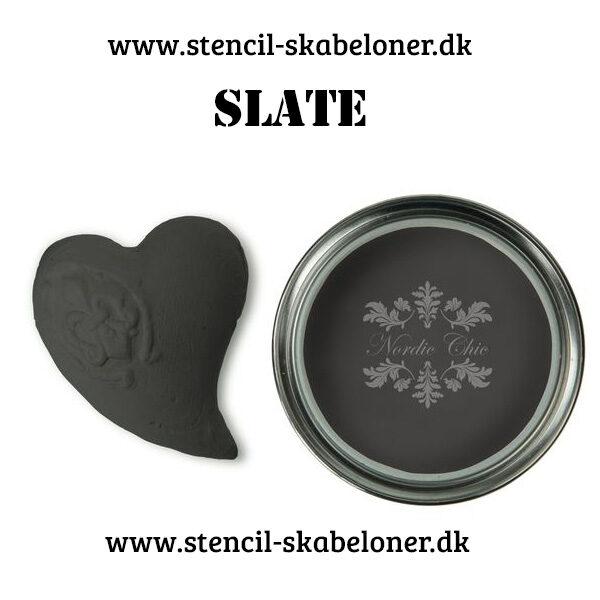 Koksgrå kalkmaling fra Nordic chic