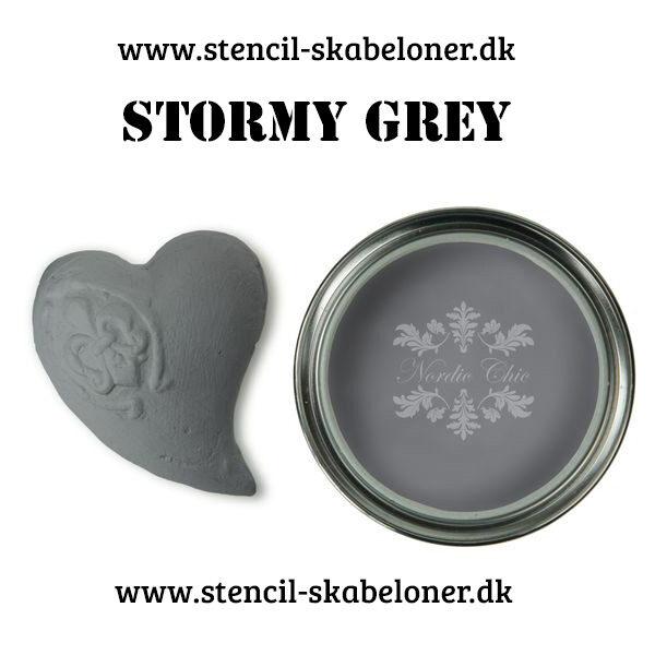 Kalkmaling nordic chic - stormy grey
