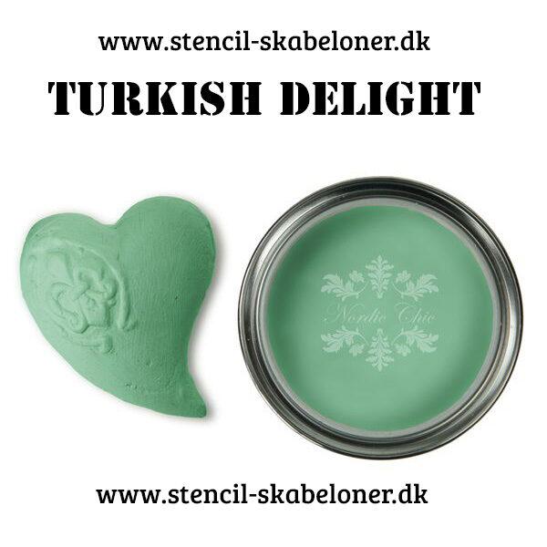 Kalkmaling fra Nordic Vhik turkish delight
