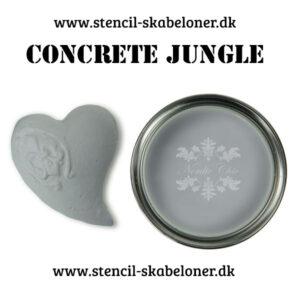 Concrete jungle kalkmaling fra Nordic Chik
