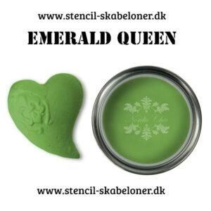 Emerald Queen kalkmaling - super flot æble grøn