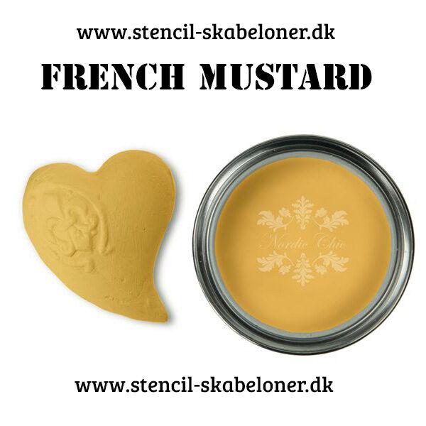 French mustard kalkmaling - til fede efekter på malede møbler