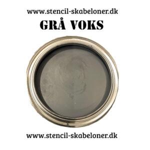 Grå voks til malede møbler. Voksen fra Nordic chik er helt naturlig og lugtfri