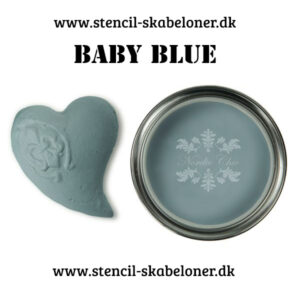 Baby Blue kalkmaling fra Nordic chic