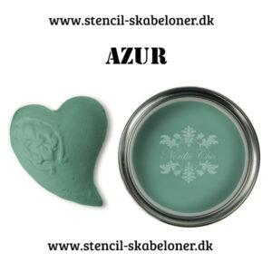 Smuk azur grøn kalkmaling. Møbel maling påå den fede måde når det skal være nemt og hurtigt