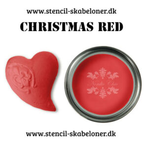 Kalkmaling Nordic Chik - christmas red