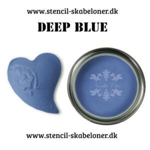 Deep blue kalkmaling fra Nordic Chic