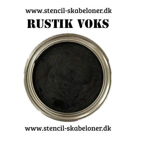Rustik voks til møbler. Med denne bløde naturlige voks kan du nemt skabe et unikt og rustikt udtryk på dine malede møbler