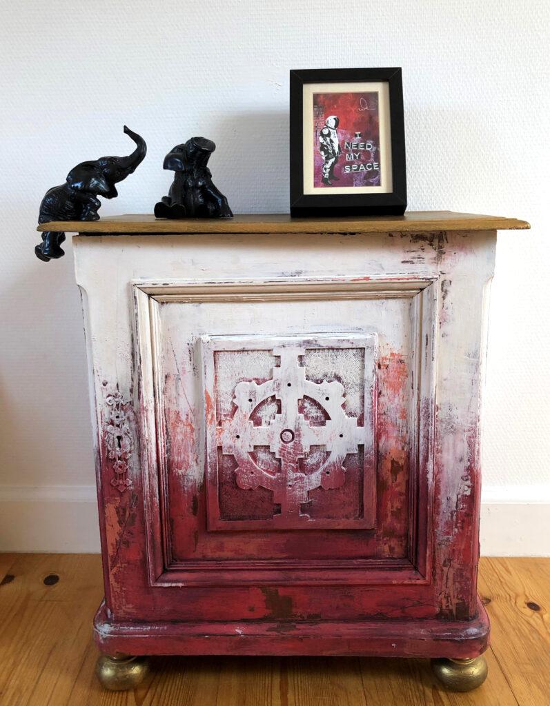 inspiration kalkmaling på møbler