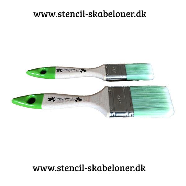 Stor fiber pensel til kalkmaling