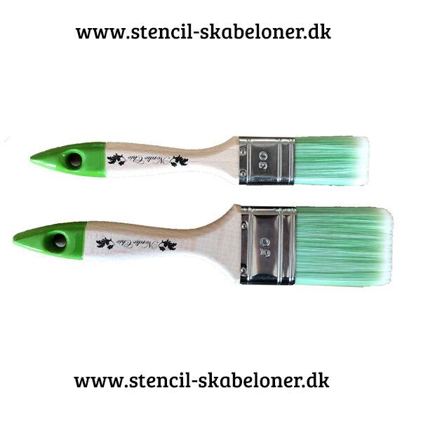 fiber pensel til kalkmaling