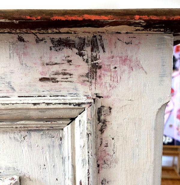 rustikke møbler malet med kalkmaling